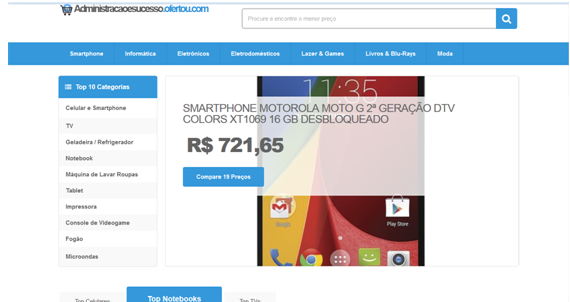 Shopping ofertou