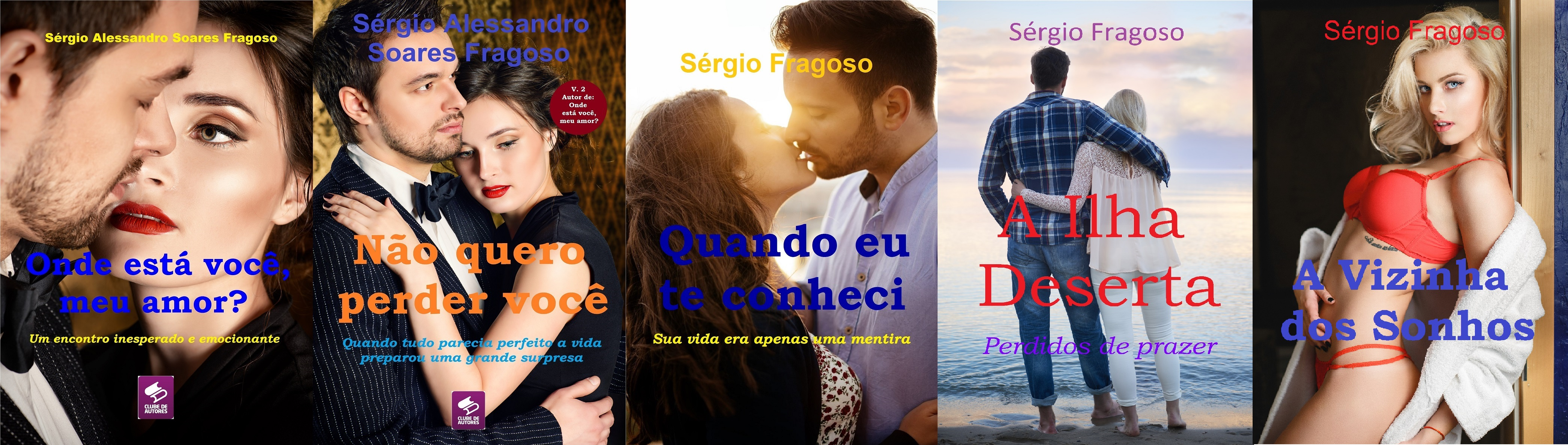 Romances do escritor Sérgio Fragoso